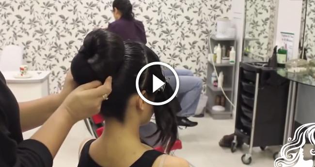 Asian Bridal Hair Style Tikka & Dupatta Setting Tutorial
