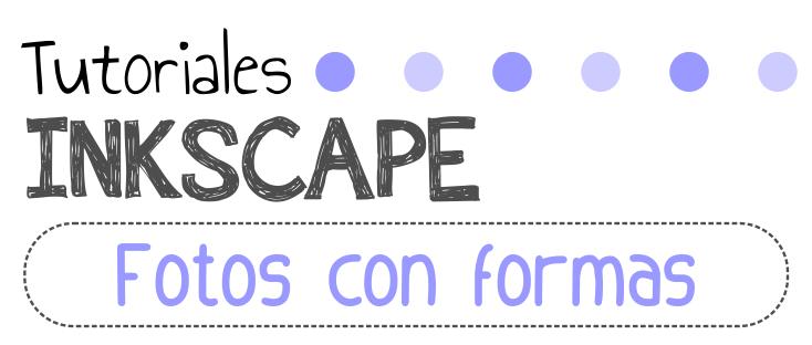Fotos con formas en InkScape