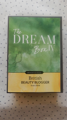 The Dream Box IV by British Beauty Blogger from Latest In Beauty