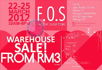 F.O.S Warehouse Sale