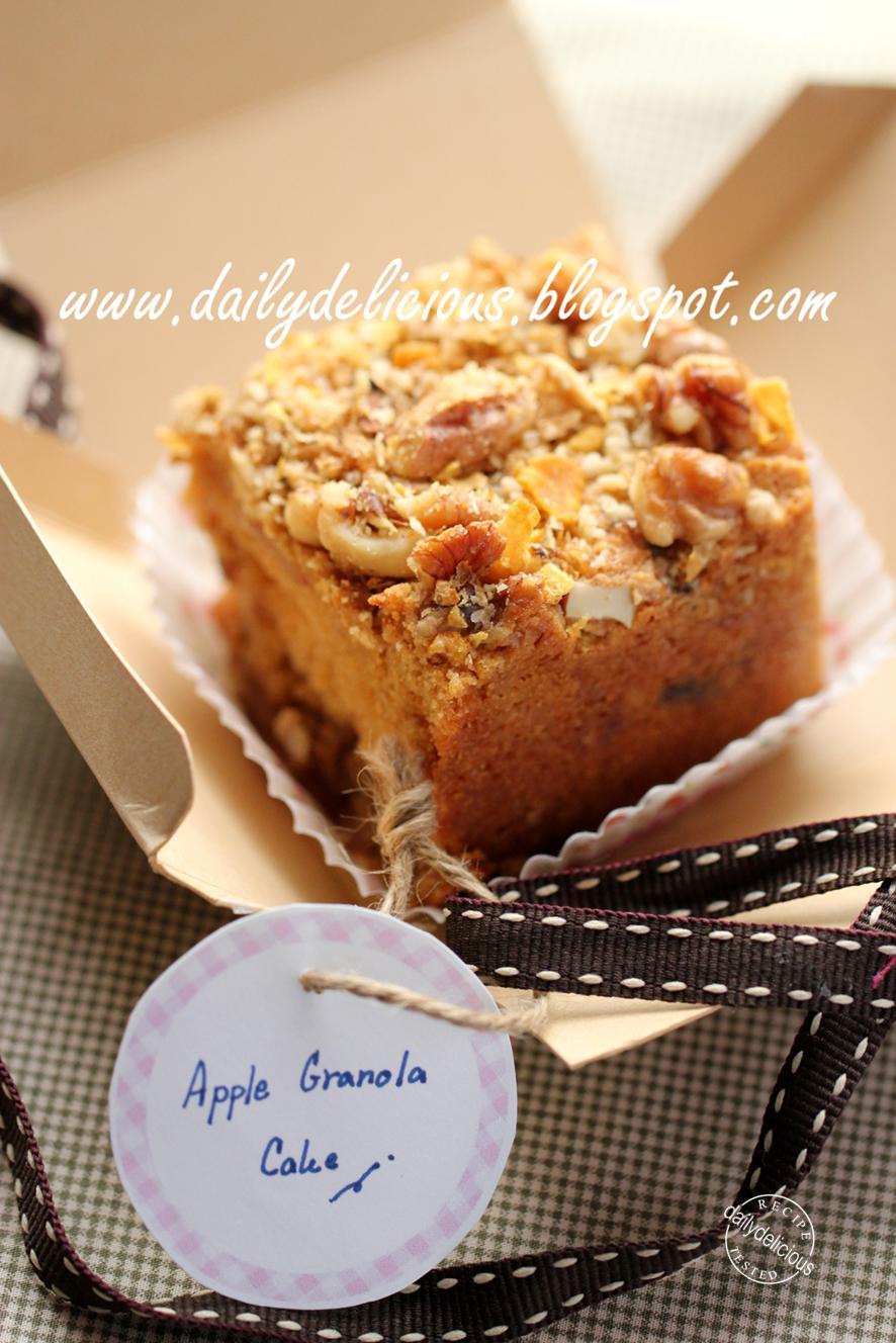 Small Apple Cake Recipe