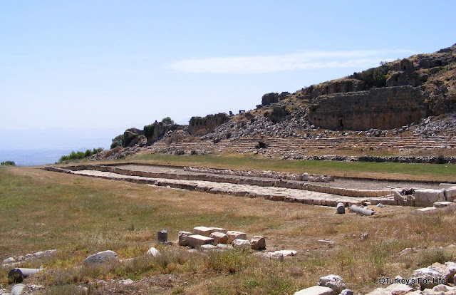 archaeological Tlos Xanthos Turkey
