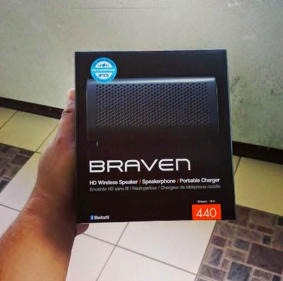 TeknoGadyet Giveaway: Braven 440 HD Wireless Speaker