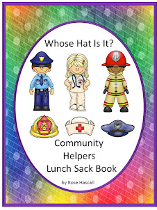 Whose Hat Is It Lunch Sack Book