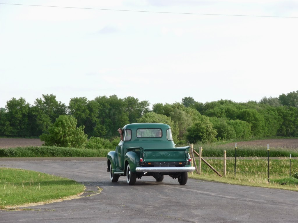 1949 Chevy truck drive
