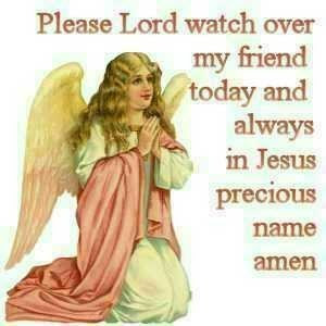  god watch over you my friend  