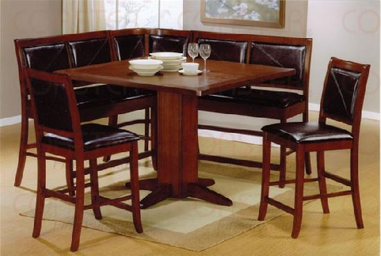 Counter Height Corner Dining Set