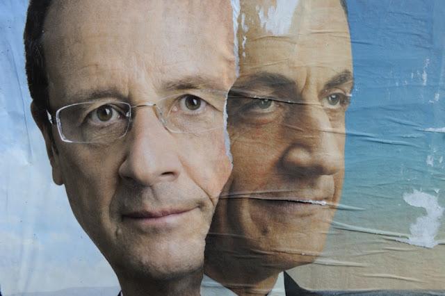 Présidentielle française: François Hollande (28%) et Nicolas Sarkozy (25%) au second tour