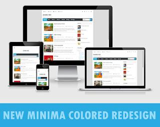 New Minima Colored Redesign