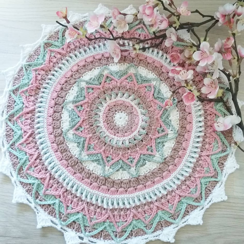 Cherry Blossom mandala