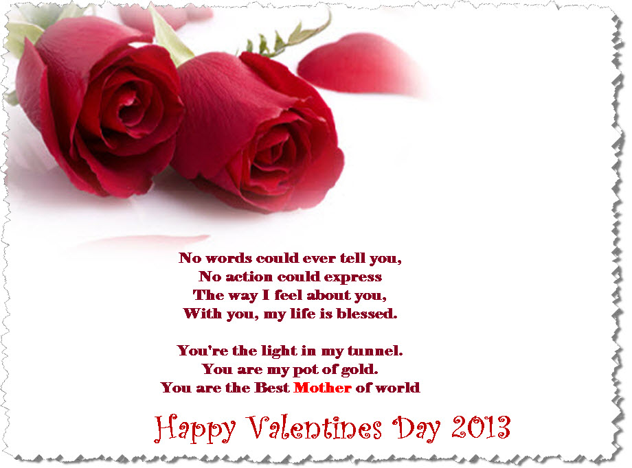 Cute Poems for Valentines Day – Valentine Card Poem