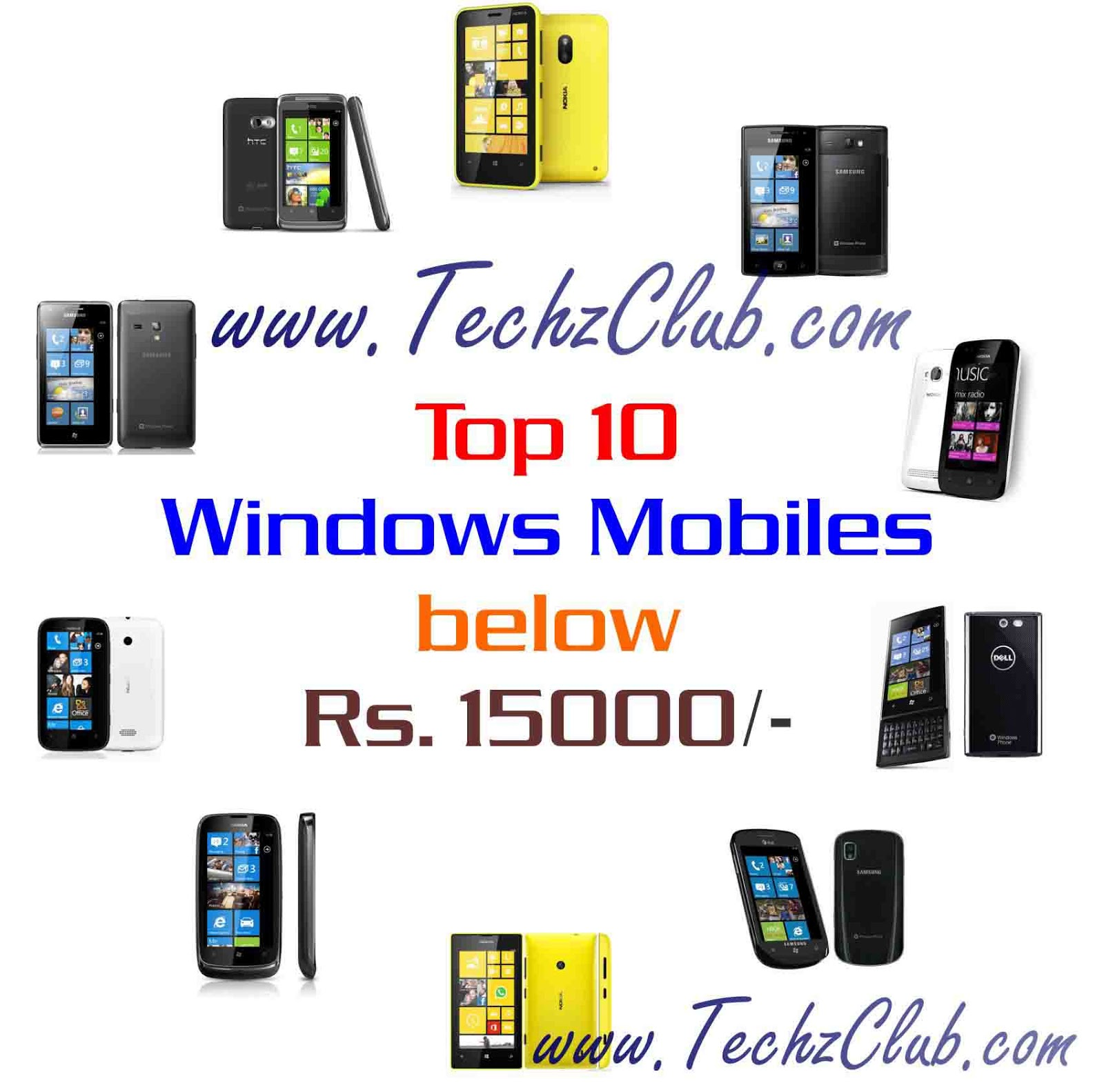 Top 10 Windows Phones below 15000