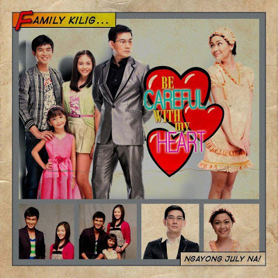 Be careful with My Heart starring Jodi Sta. Maria, Papa Chen, Janella Salvador, Jerome Perez and Mutya Orquia