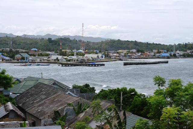 Pemandangan Pelabuhan Majene