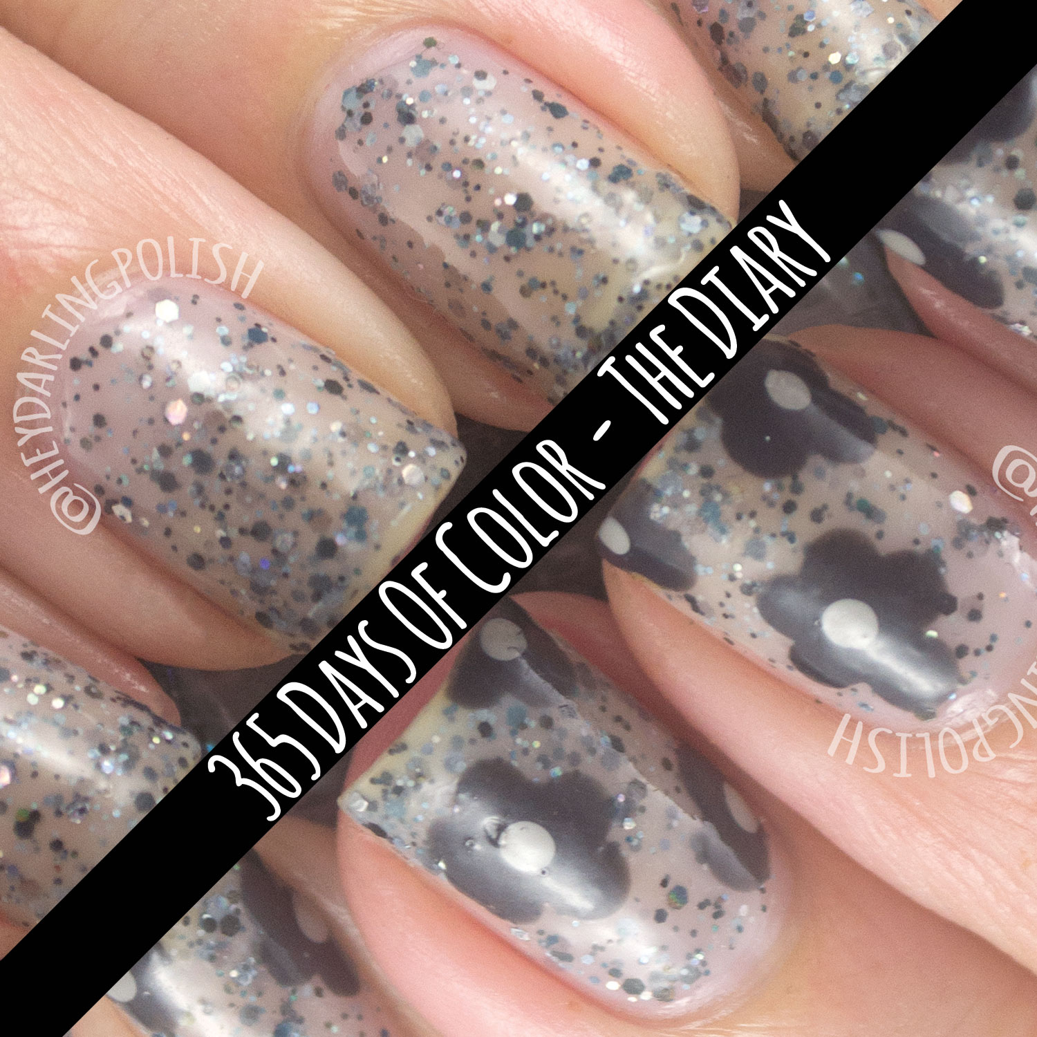 365 Days Of Nail Art March 2014: Hey, Darling Polish!: Indie Fridays!: 365 Days Of Color