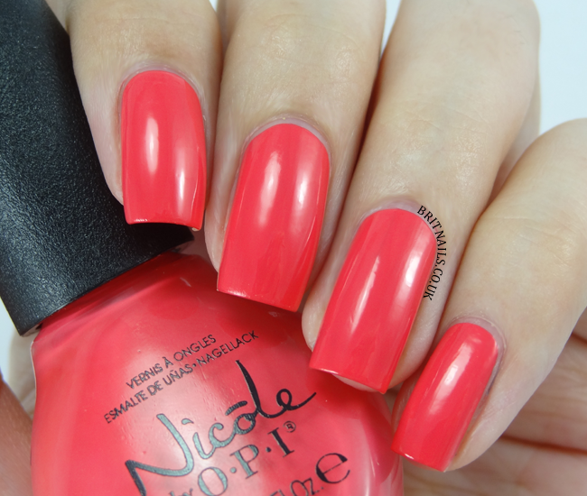 Nicole by OPI The Coral of the Story