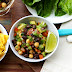 Chickpeas And Black Bean Salsa