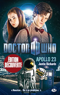 Novélisation de Doctor Who BBC Wales. critique Apollo 23 de Justin Richards. chronique du livre milady