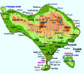MAP OF BALI HAI