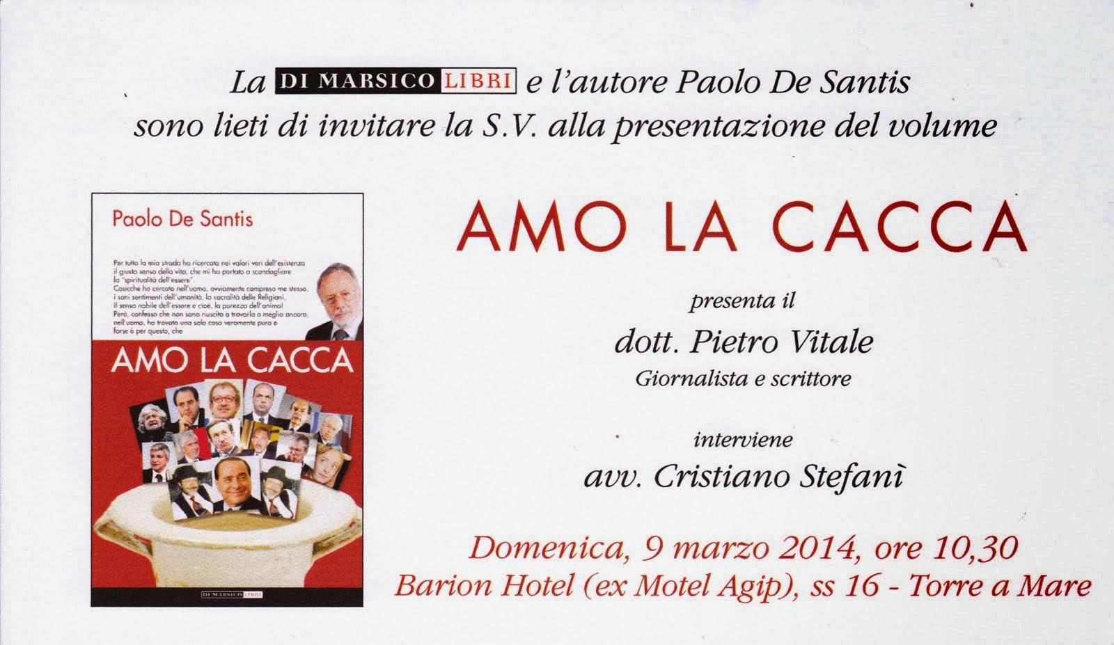 AMO LA CACCA-di Paolo De Santis