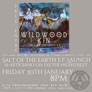 Wildwood Kin EP launch