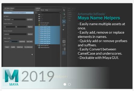 Maya Name Helpers