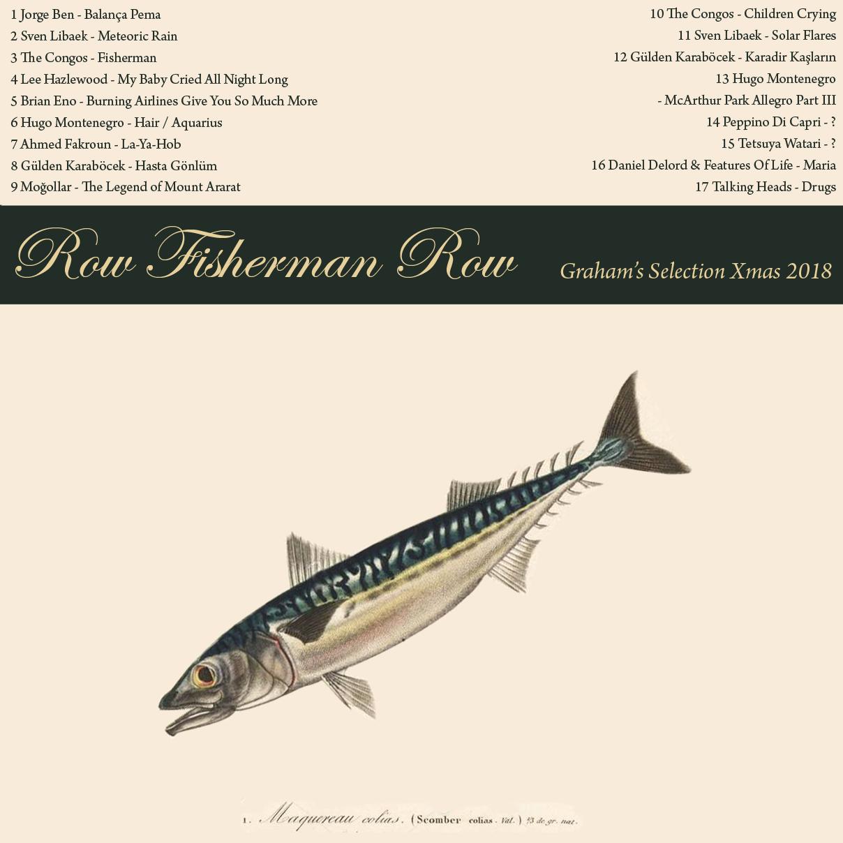 GRHM#14 - ROW FISHERMAN ROW