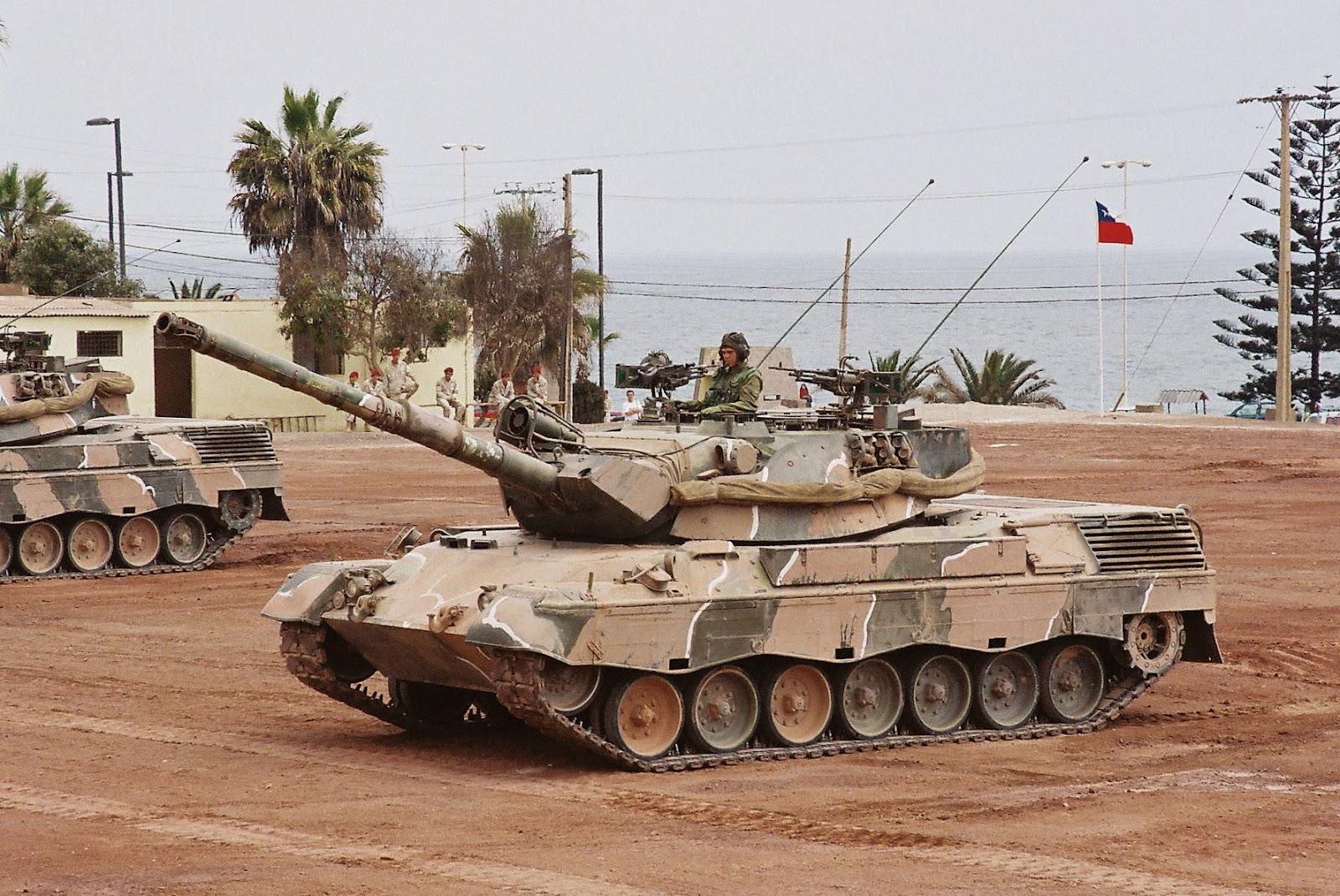 los leopard 2 chilenos:
