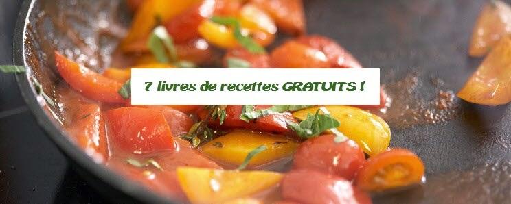 7 livres de recettes gratuits en pdf coupons au qu bec - Livre de recettes de cuisine gratuite ...