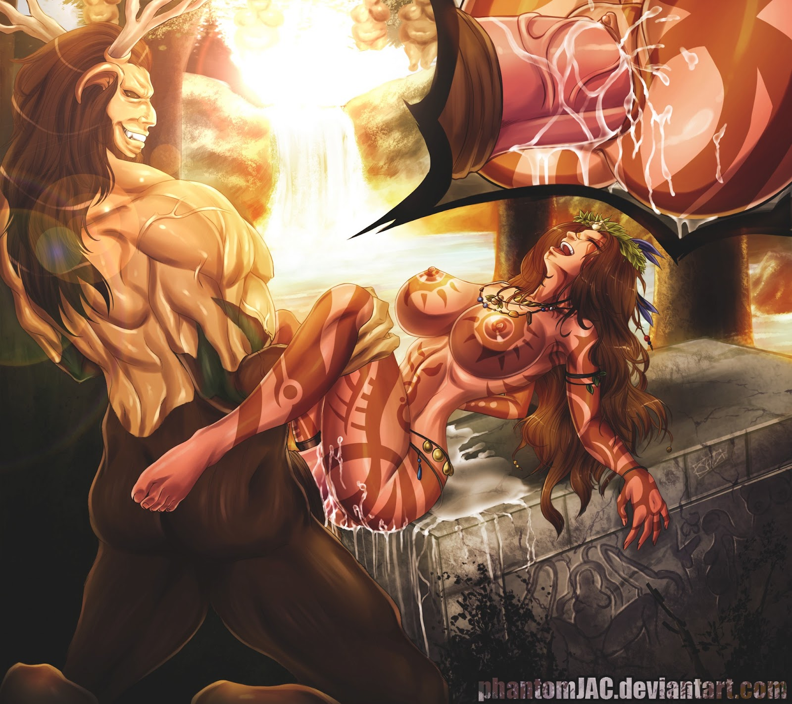 Hentai satyr grils with human males hardcore gallery