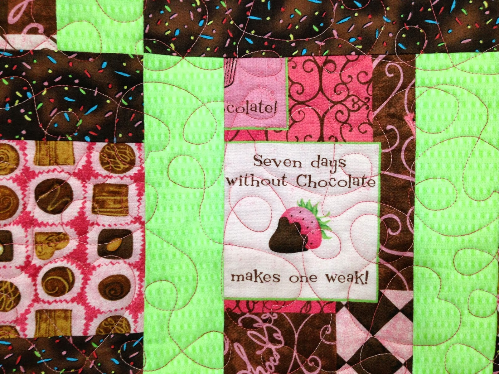 Julia McMahon Chocolate Lovers Quilt