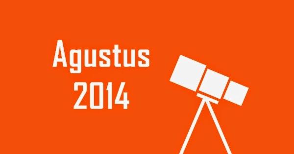 Wajib Lihat! Inilah Daftar Peristiwa Astronomi Agustus 2014