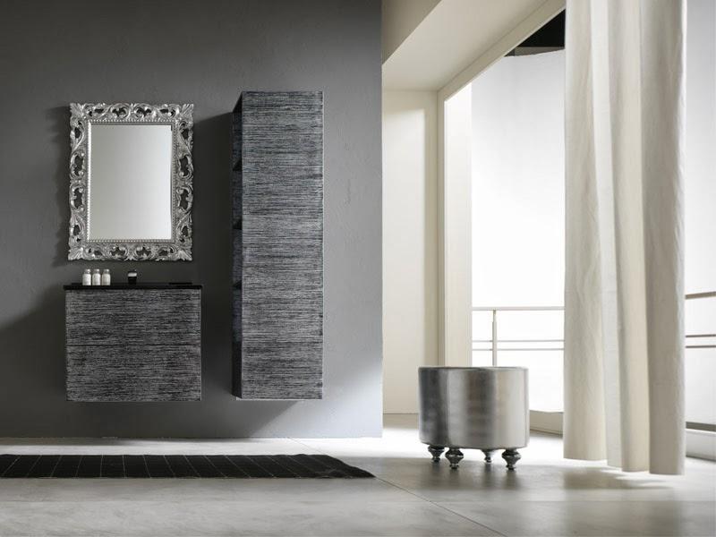 modern bathroom mirrors. square vessel sink wall mounted mirror