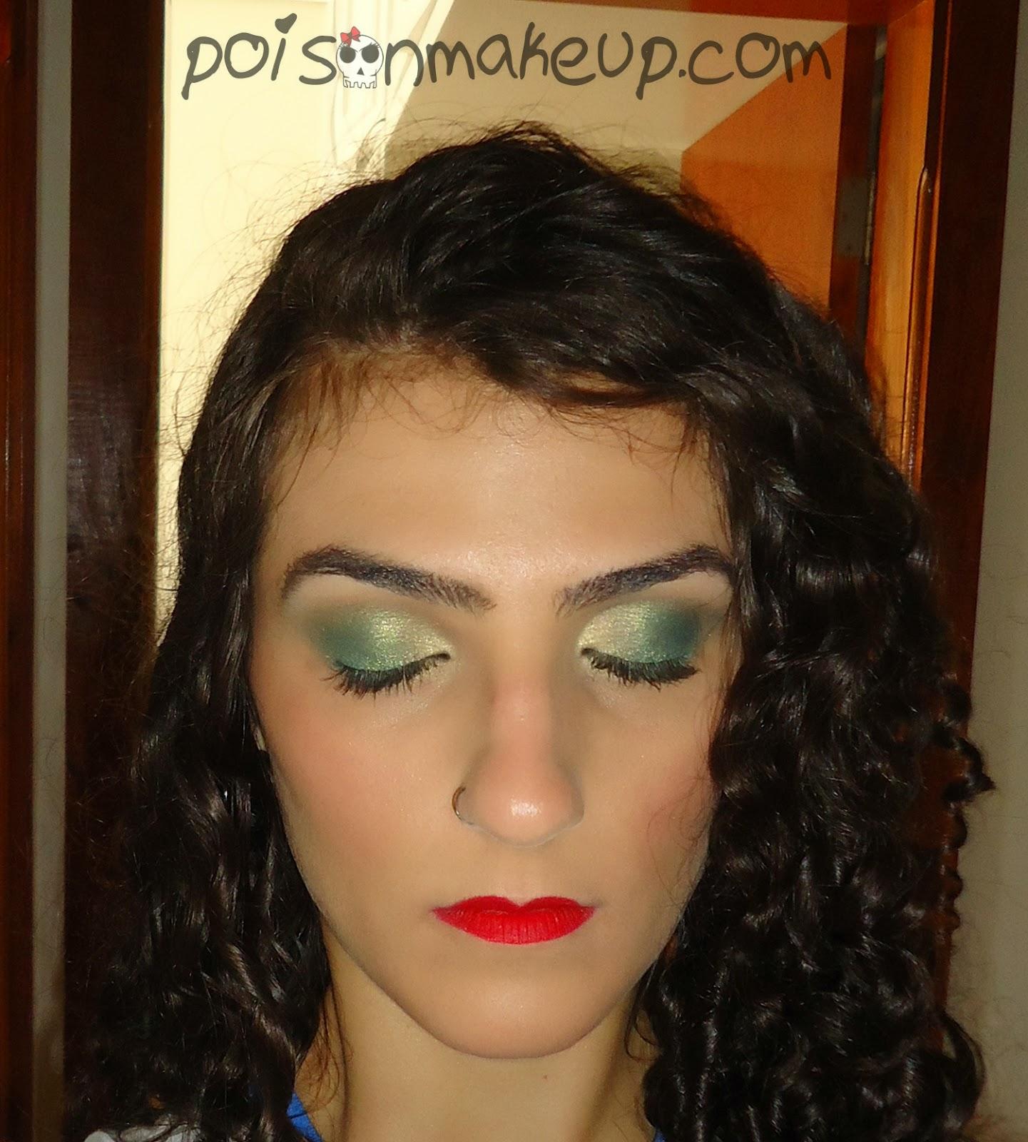 Maquiagem para jogo do Brasil
