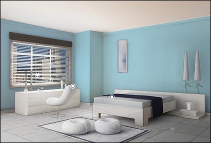 Colores para el interior de tu casa quiroz h bitat y for Opciones para pintar mi casa interior