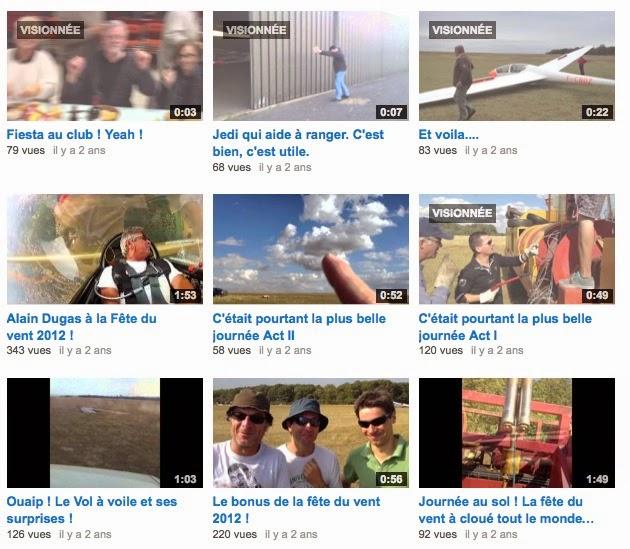 """Toutes les vidéos """"souvenirs"""" sont là"""