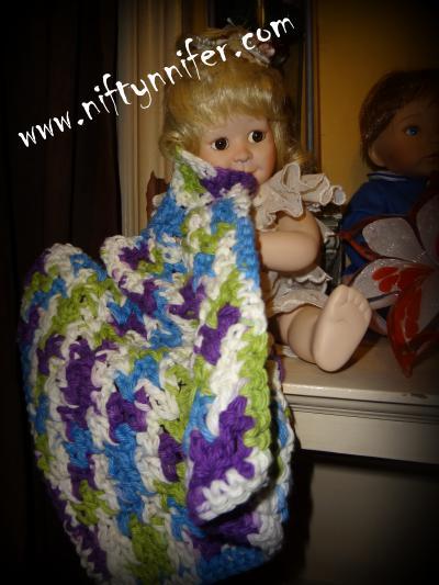 Free Crochet Pattern ~Double Easy Washcloth http://www.niftynnifer.com/2013/09/washcloth-free-crochet-pattern-by.html #Crochet