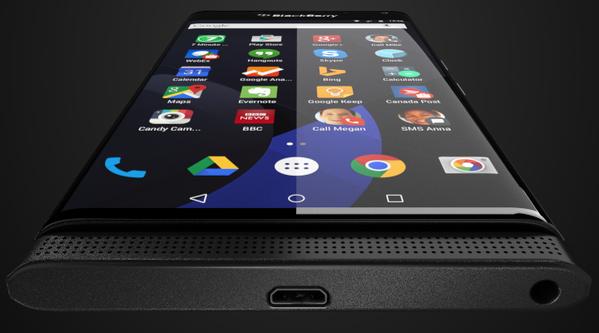 Smartphone Android de Blackberry Venice