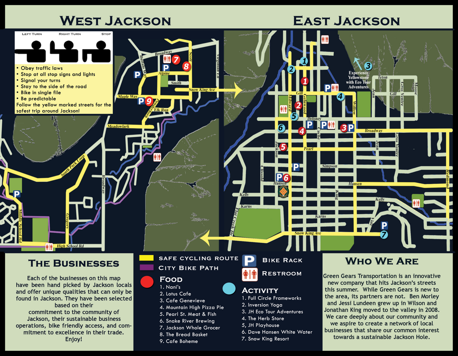 if you ve ever been to jackson hole in the summer you know how small the town is and how choked with traffic we become during the summer tourist season