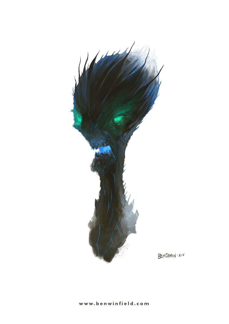 Egg Head Demon by Ben Winfield