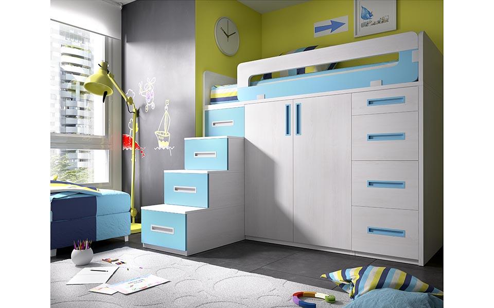 Arte h bitat tu tienda de muebles espacios peque os - Aprovechar espacio dormitorio ...