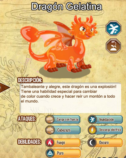 Dragon Gelatina | Amigos Para Dragon City