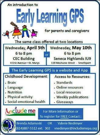 5-10 Early Learning GPS