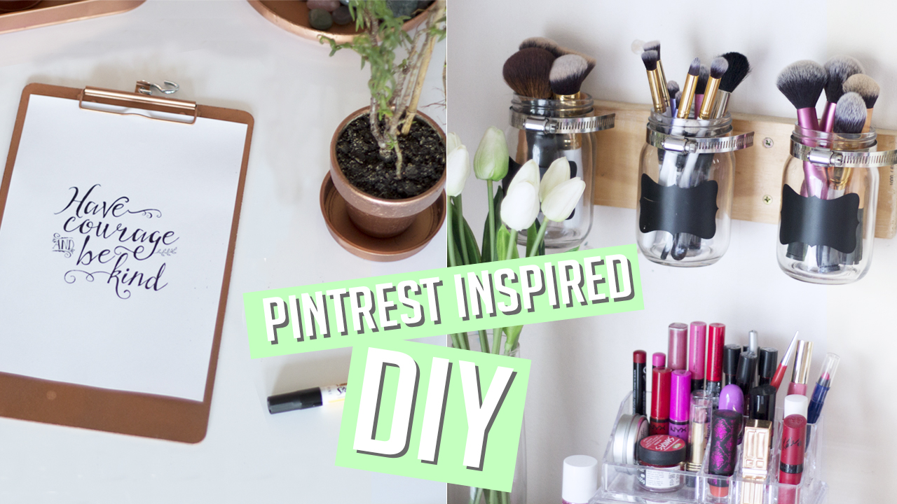 Shop Style Conquer DIY Room Decor Organisation Pinterest Inspired