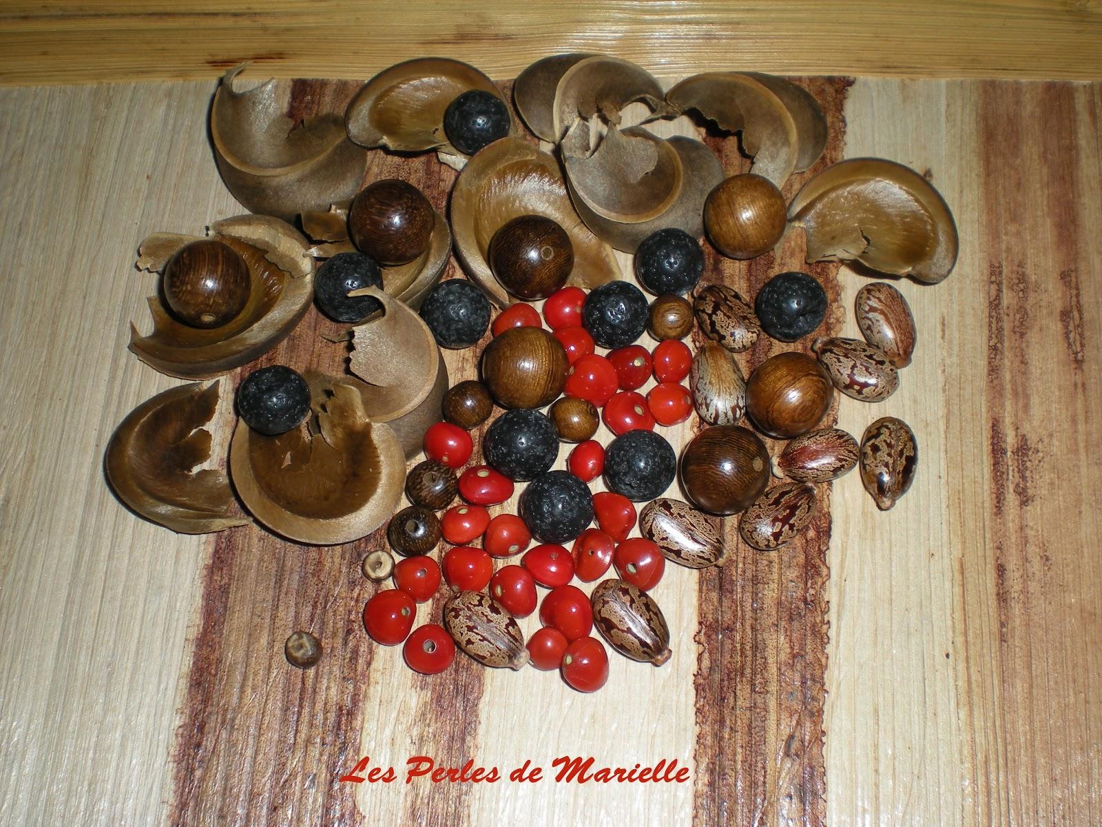 graines pour bijoux