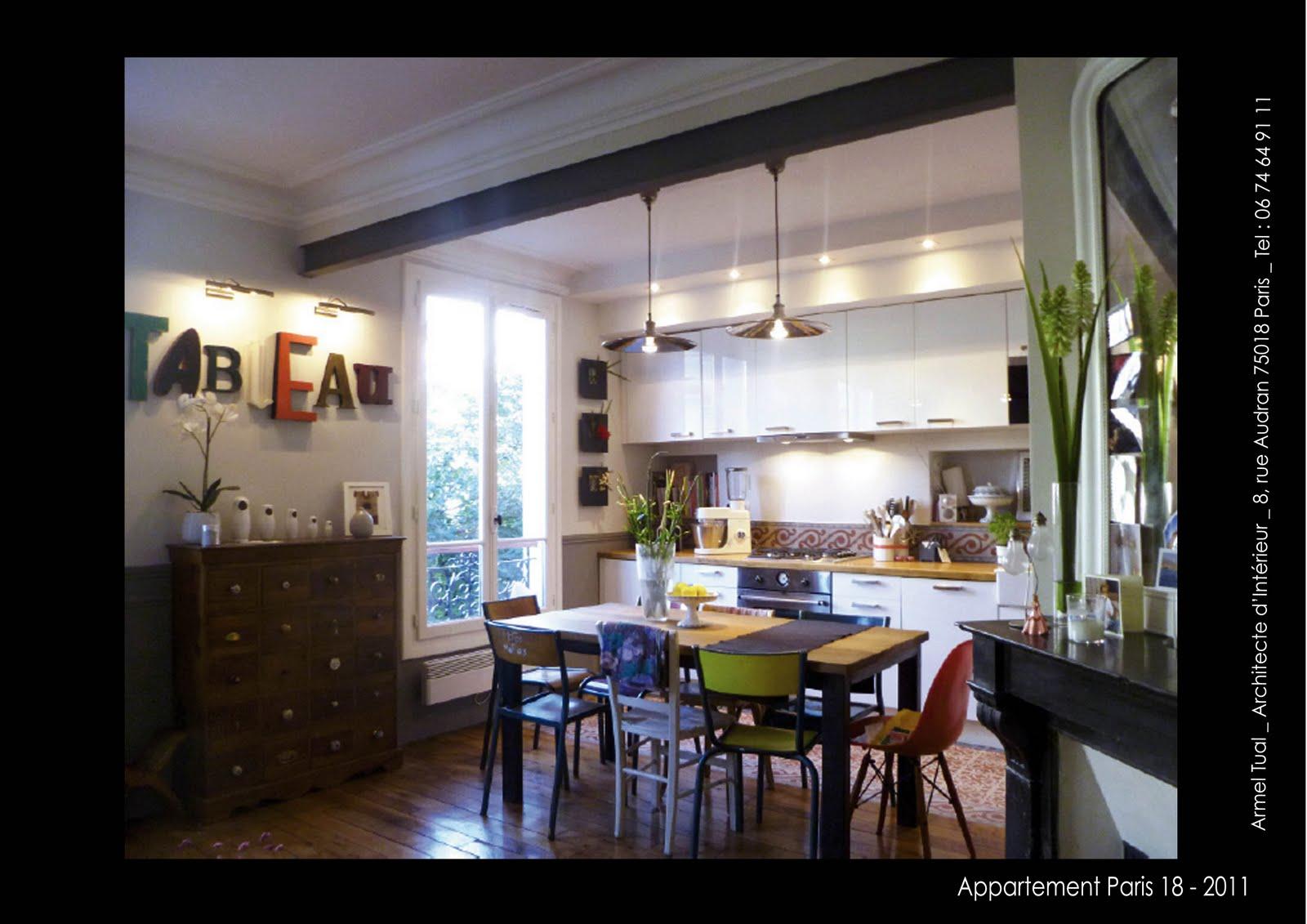 armel tual architecte d 39 int rieur cfai appartement de 53m2. Black Bedroom Furniture Sets. Home Design Ideas