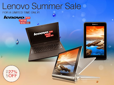 Lenovo Summer Sale at Lazada