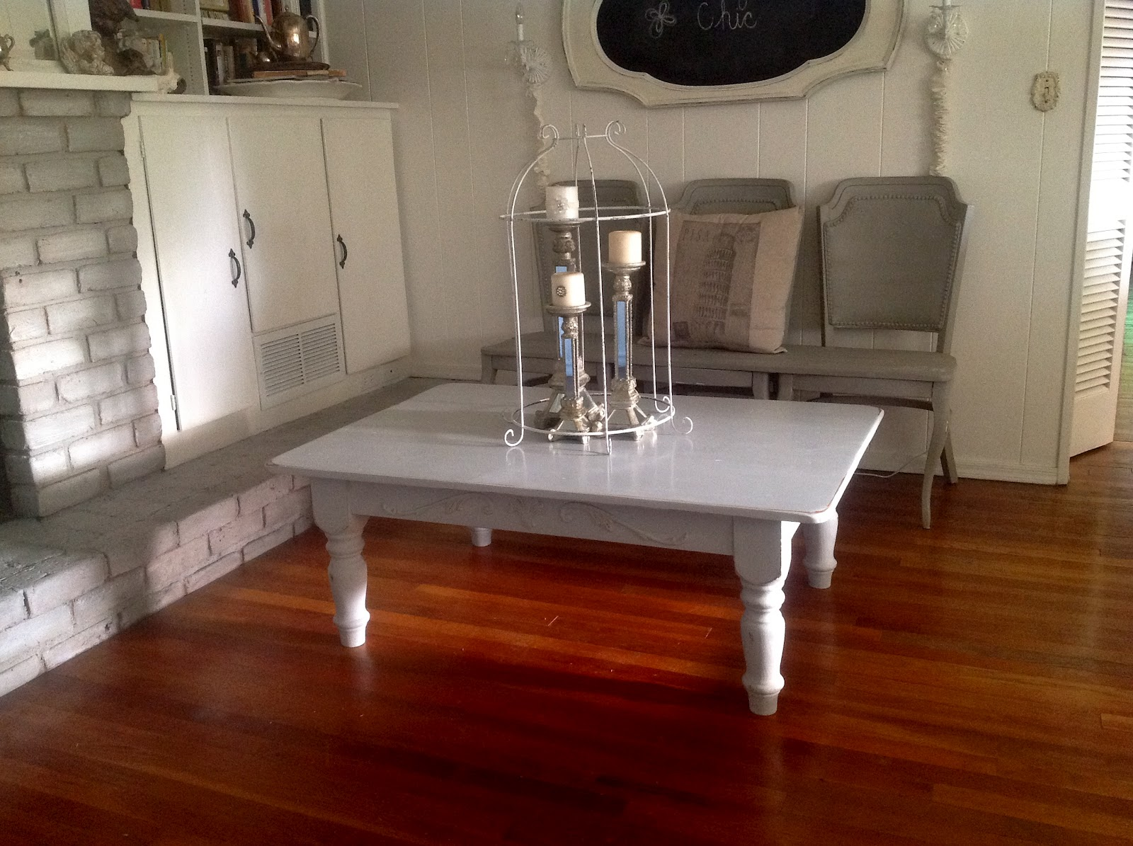 So French By Jeanne Cottage Style Coffee Table