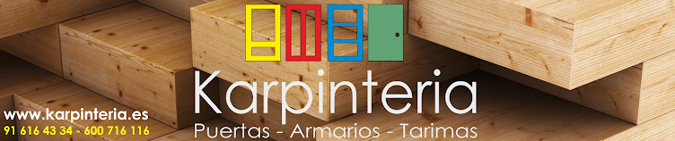 Karpinteria - Puertas, Armarios y Tarimas.