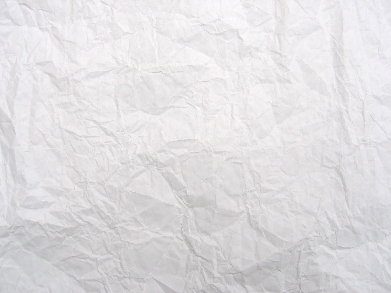 Crumpled White Paper Texture Hd